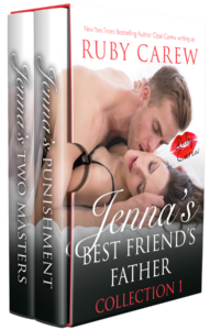 Jenna's Best Friend's Father Series - Daddy Erotic Romance