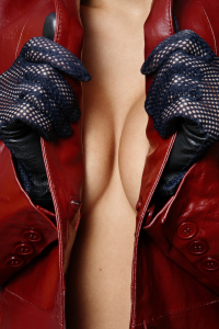 Red-Leather-jacket-Breasts-ruby-foxx-shorts-erotica